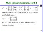 multi variable example cont d1