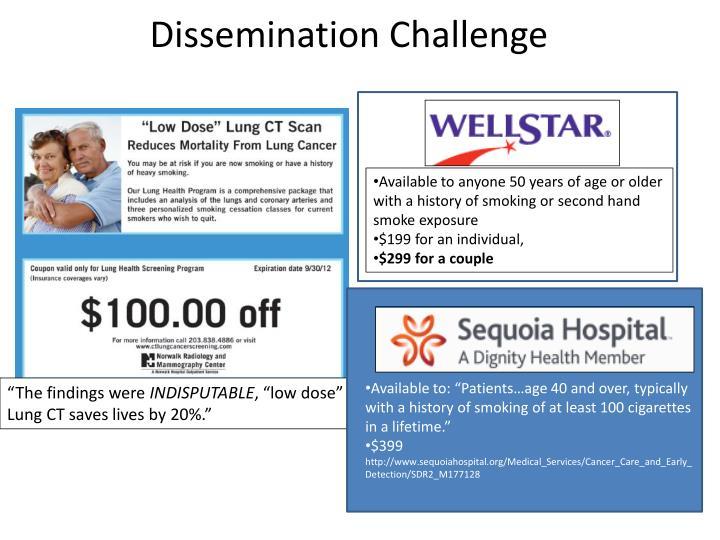 Dissemination Challenge