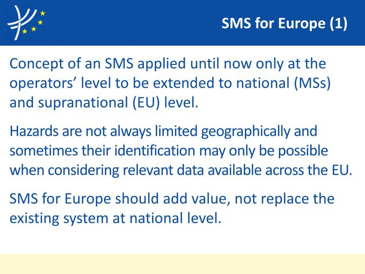 SMS for Europe (1)