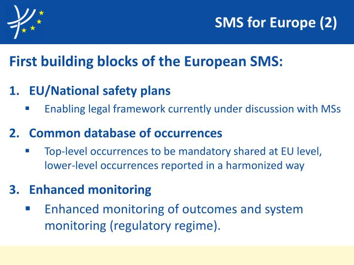 SMS for Europe (2)