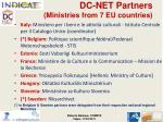 dc net partners ministries from 7 eu countries