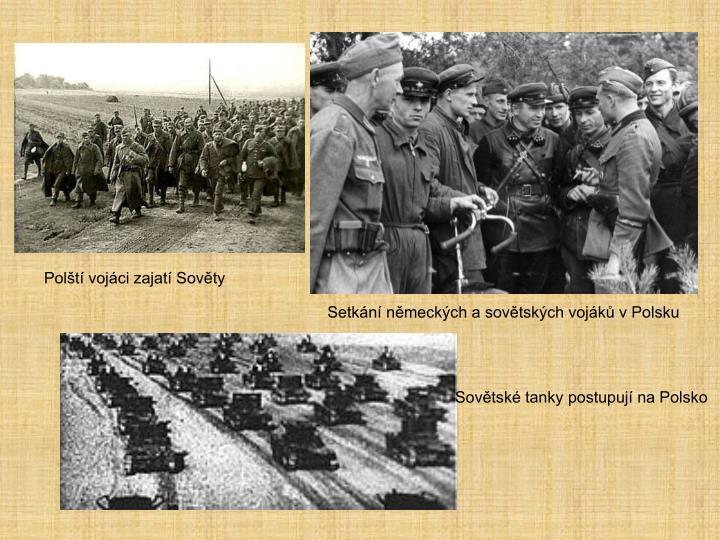 Polští vojáci zajatí Sověty