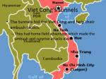 viet cong s tunnels
