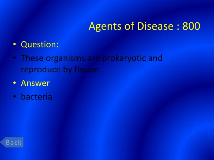 Agents of Disease :