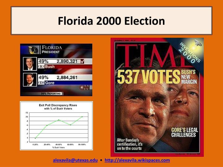 Florida 2000 election