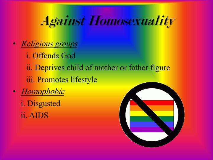 Against Homosexuality