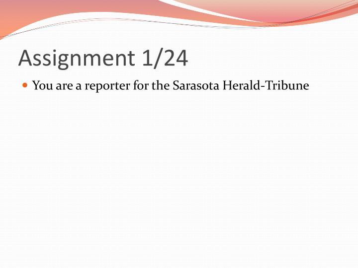 Assignment 1 241