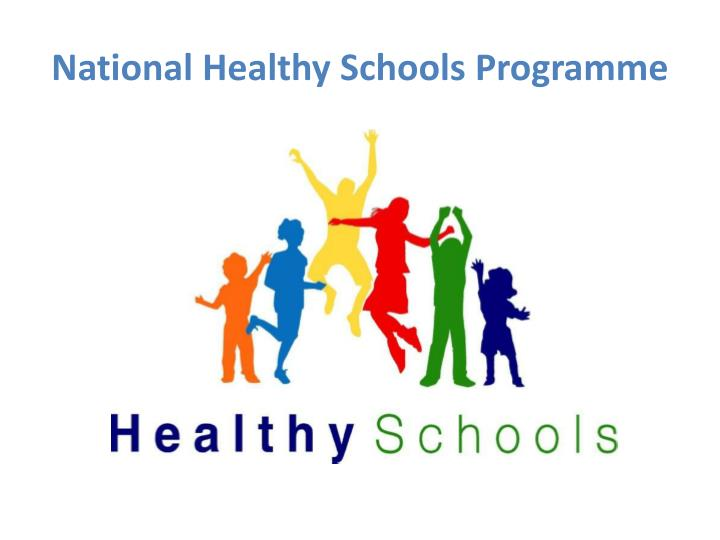 National Healthy Schools Programme