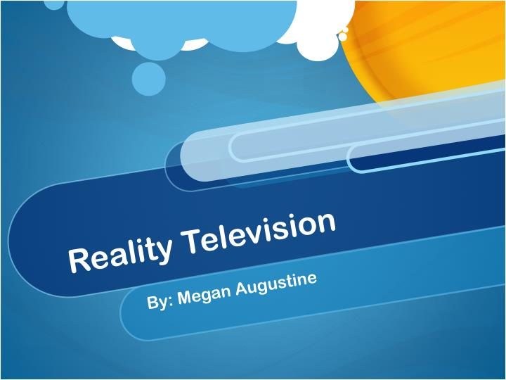 reality television n.