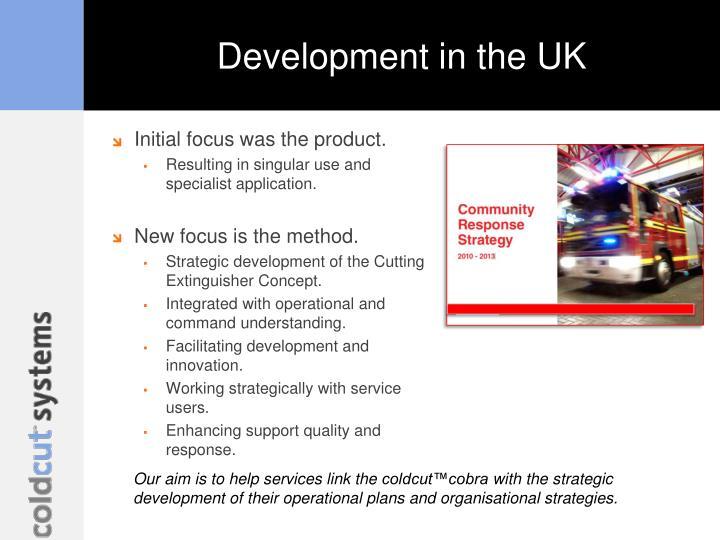 Development in the UK