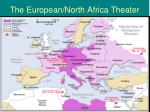 the european north africa theater
