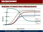 realization 5 central is best at maturing services