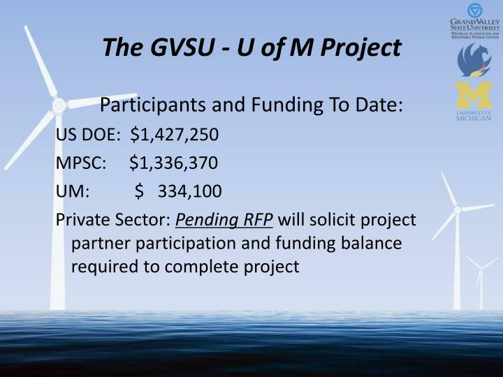 The GVSU - U of