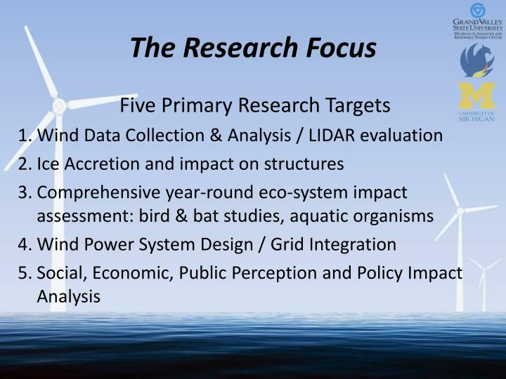 The Research Focus