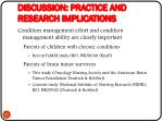 discussion practice and research implications