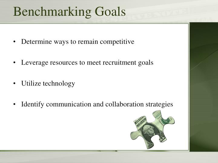 Benchmarking goals