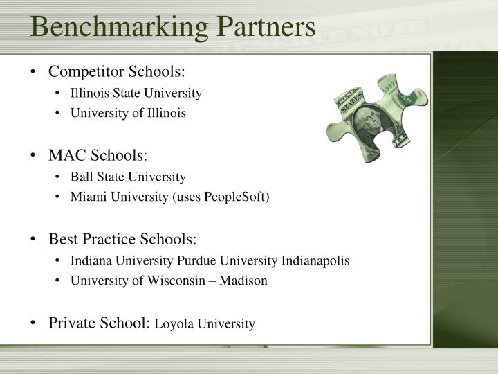 Benchmarking partners