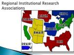 regional institutional research associations1