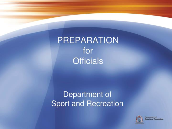 department of sport and recreation n.