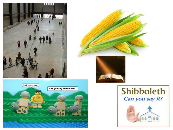 Can you say Shibboleth?