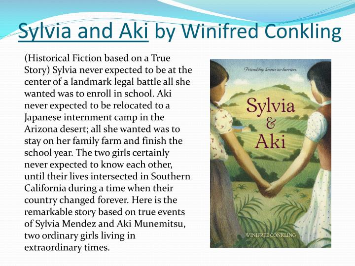 sylvia and aki by winifred conkling n.