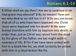 romans 6 1 14