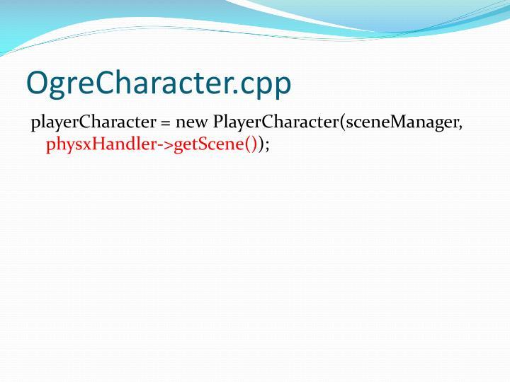 OgreCharacter.cpp