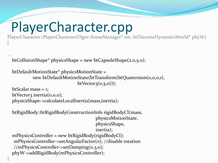 PlayerCharacter.cpp