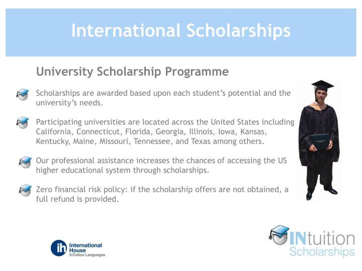 University Scholarship Programme