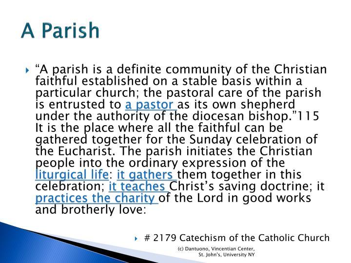 A Parish