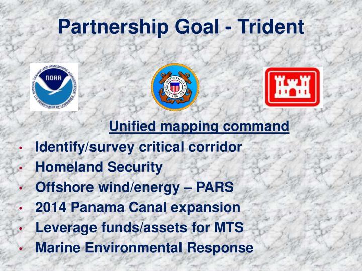 Partnership Goal - Trident