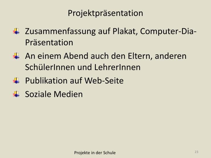 Projektpräsentation