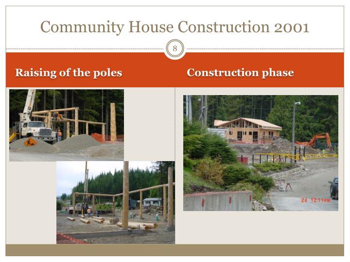 Community House Construction 2001
