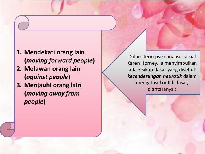 Mendekati orang lain (