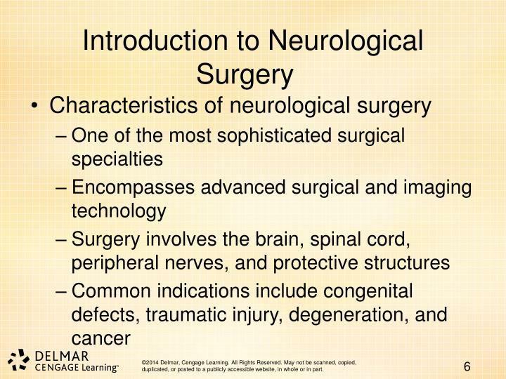 Introduction to Neurological Surgery