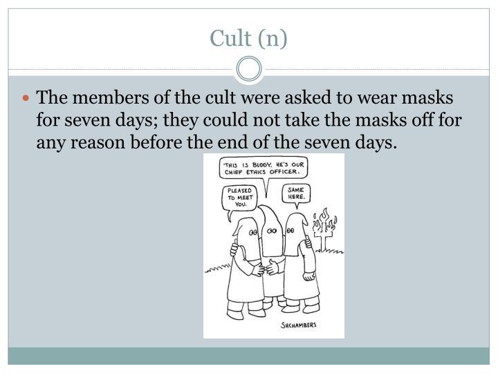 Cult (n)