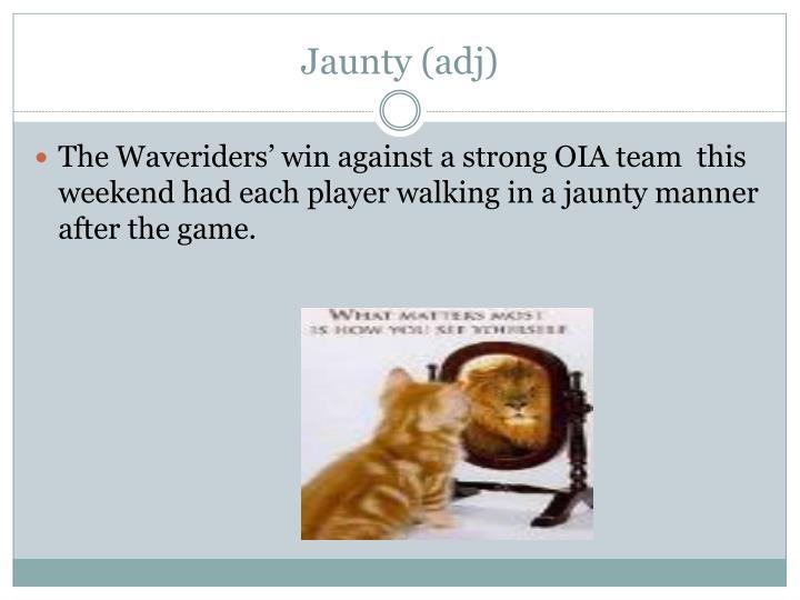 Jaunty (