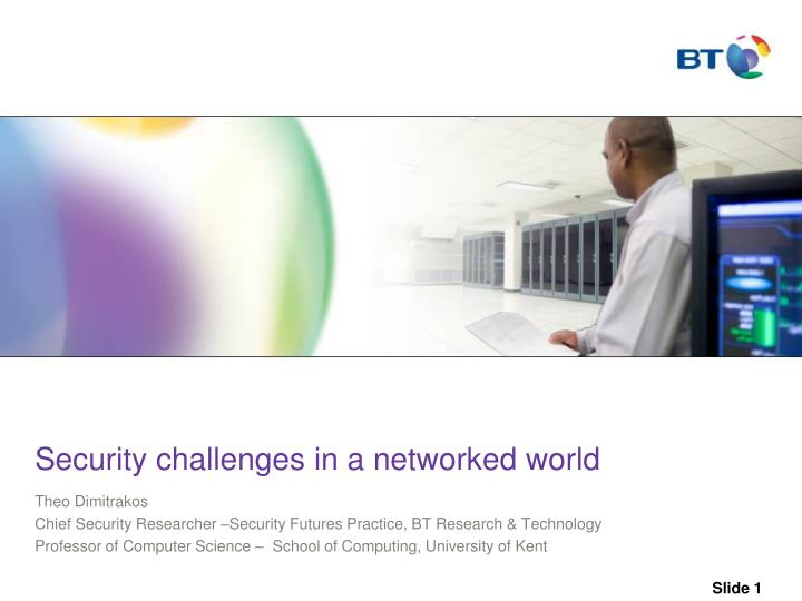 s ecurity challenges in a networked world n.