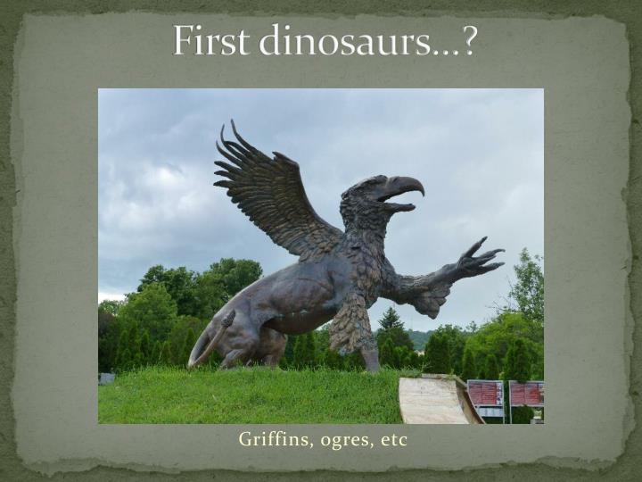First dinosaurs1
