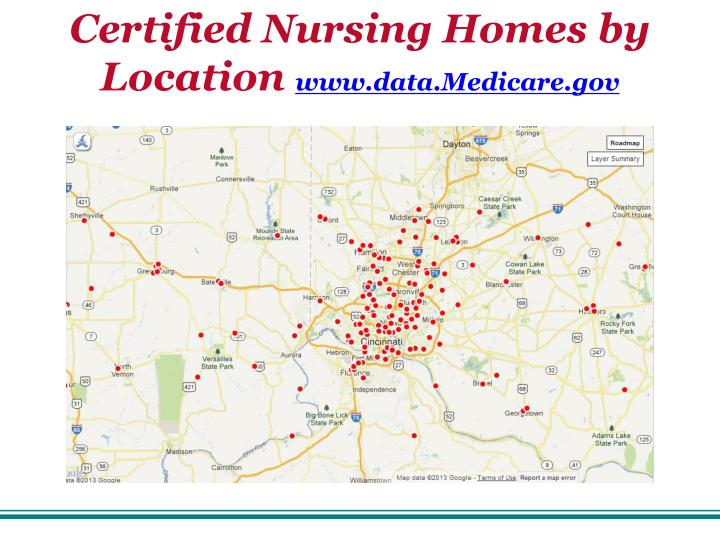 Certified Nursing Homes by Location