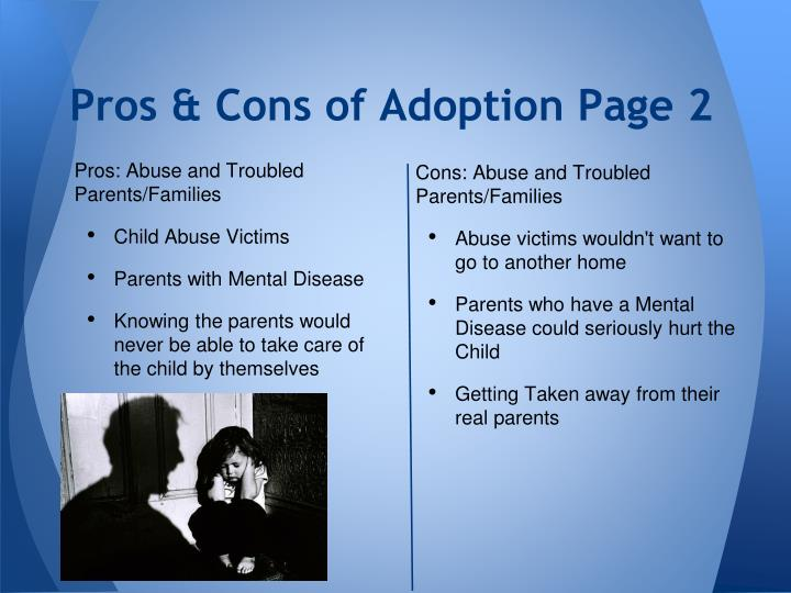 Pros & Cons of Adoption Page 2