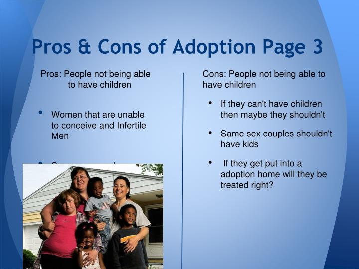Pros & Cons of Adoption Page 3