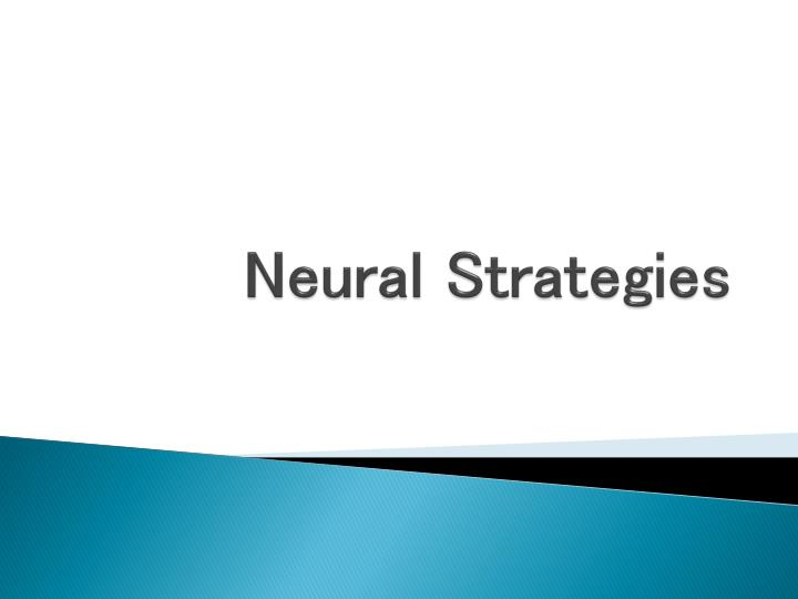 neural strategies n.