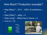 how much production example1