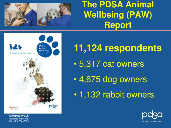 The PDSA Animal Wellbeing (PAW) Report