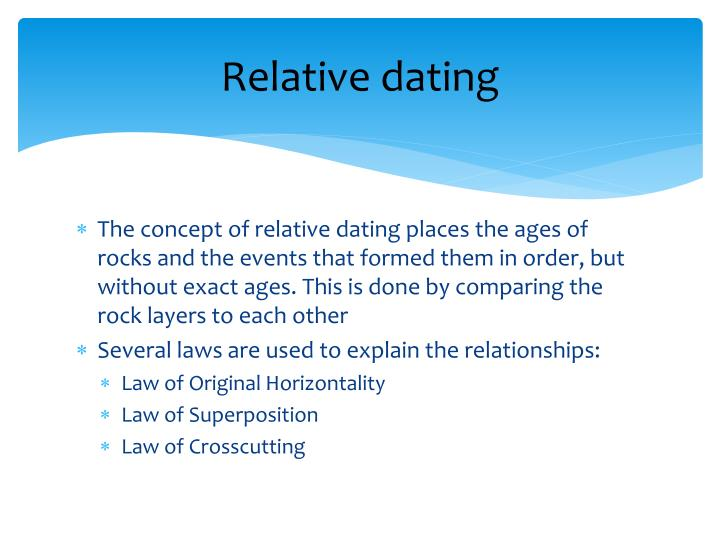 laws used in relative dating jin dating rumor