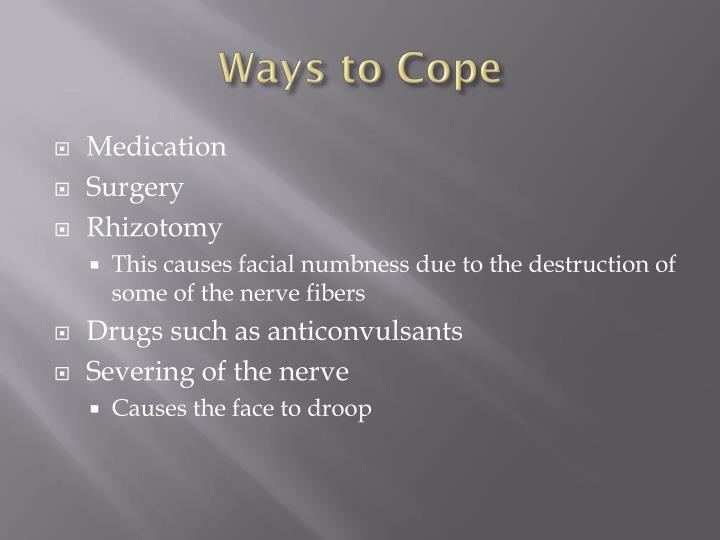Ways to Cope