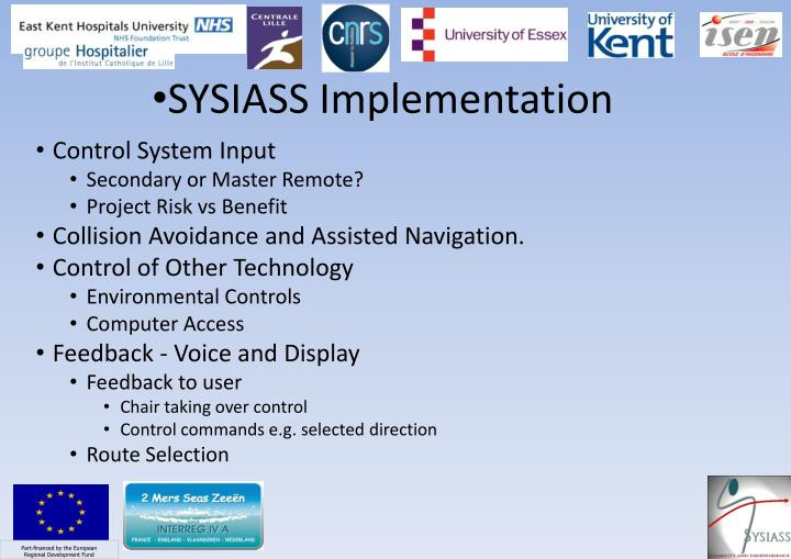 SYSIASS Implementation