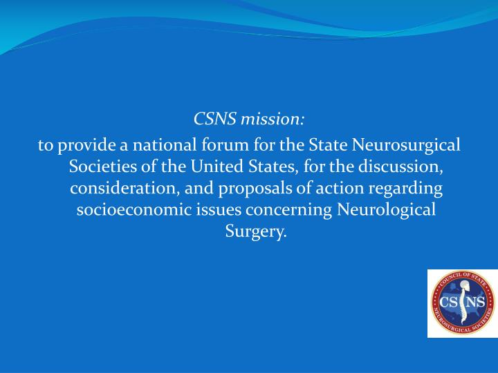 CSNS mission: