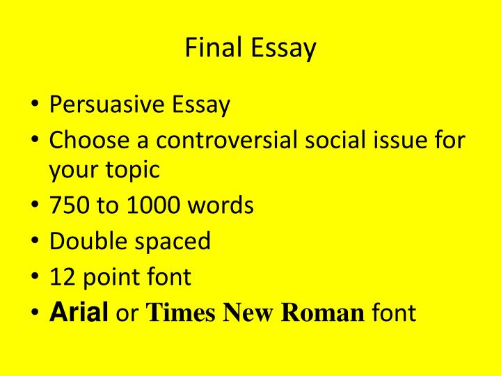 1000 word essay double spaced Best answer: i think 10 to twelve is a bit extreme, i have a 1000-word essay saved on my computer that i wrote a couple days ago i checked it, and it only comes to about 3 pages in times new roman, with a font size of 12, one-inch margins on all sides, and double-spaced.